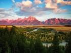Gün batımı Dağlar ve Doğa